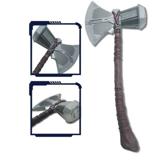 "1:1 Thor Stormbreaker Axe Hammer 27"" Long Replica Props Toy for Avengers Cosplay"