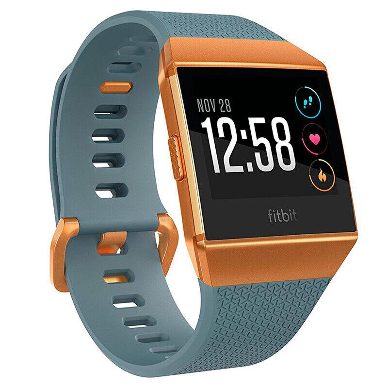 Fitbit Ionic Smartwatch Slate Blue/Burnt Orange