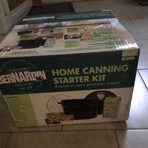 Bernardin Canning Starter Kit (BRAND NEW)