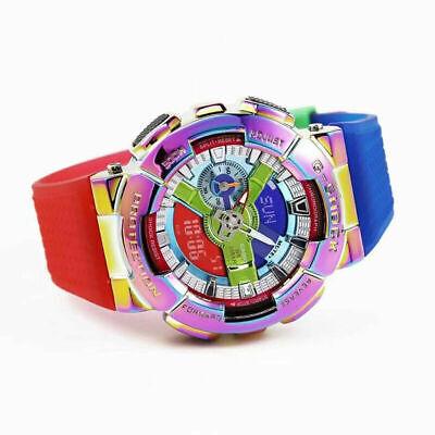 Casio G-Shock GM-110RB Rainbow Quartz Watch-Limited Edition With Branded Box USA