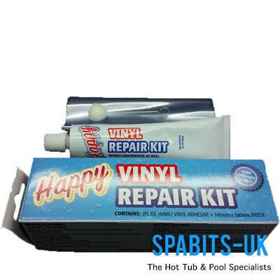 Vinyl Underwater Pool Repair Kit Swimming Pools, Air Beds, Lilos, Inflatables.