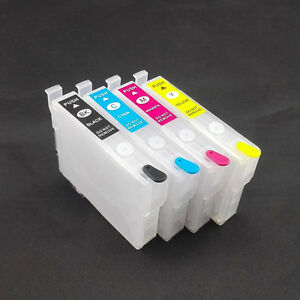 Empty T252 refillable Ink Cartridge Epson WF7610 WF7620 WF7110