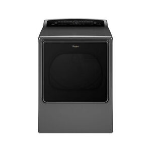 Whirlpool 8.8 Cu Ft Electric Steam Dryer WED8500DC