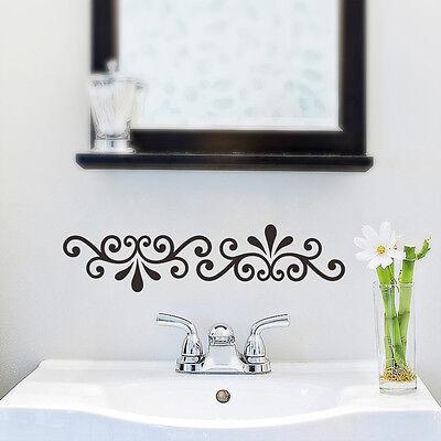 Vines Wall Border Window Decals Mural Vinyl Sticker DIY Bathroom Decor Home Art Decorative Wall Sticker Border