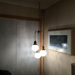 Lamps - Hanging Chain & Table/Desk Lamps - $Negotiable
