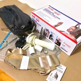 NEW Sure-Trac Overdoor Cervical Traction+Carry Case, Neck Pain/Alignment...