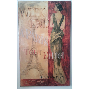 Big Weekend in Paris picture canvas $20.00