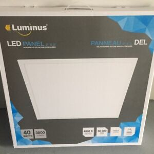 Brand New LUMINUS CEILING PANEL LED LIGHT 24''X24''