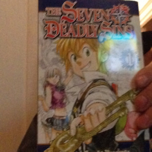 seven deadly sins manga book 1 and 2