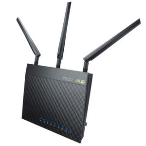 ASUS RT-AC66U Dual-Band Wireless-AC1750 Gigabit Router $100