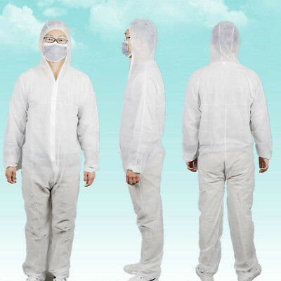 Light Duty Disposable Coverall Suit With Head Protection
