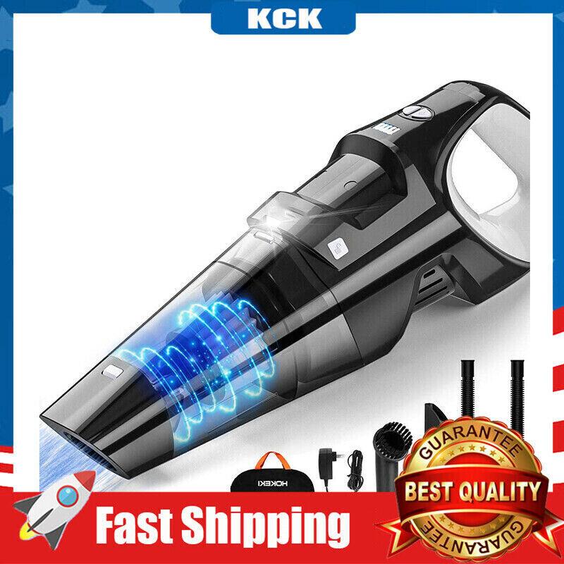 handheld vacuum 6kpa cordless rechargeable stronger cyclonic