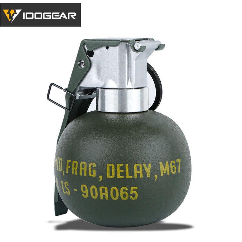 IDOGEAR M67 Grenade Body Model Dummy Frag Gren Quick Release Stun Army Military