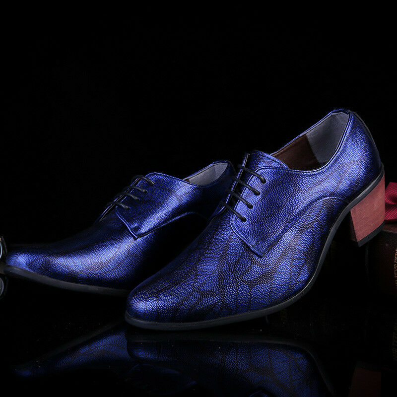 Men Dress Shoes Wedding Shoes Formal Leather Sneakers Thick