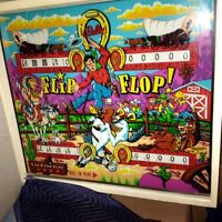 "Bally ""Flip Flop"" Pinball Machine"