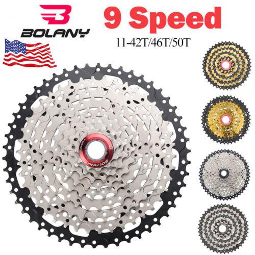 BOLANY 9 Speed 11-42T 11-46T 11-50T MTB Cassette Bike Mounta