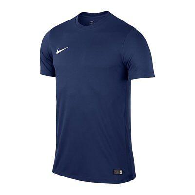 Nike Park VI Herren Trikot T-Shirt blau Dri-FIT Fußball Fitness Training 725891 ()
