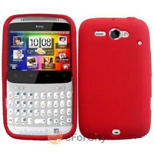 For HTC Status/ChaCha Silicone Skin Phone Case Cover