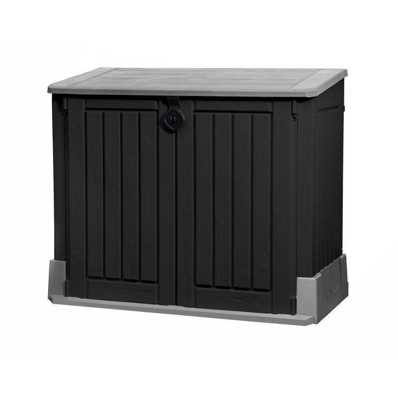 Keter Mülltonnenbox Mülltonnenverkleidung Mülltonnenschrank Geräteschrank Garten