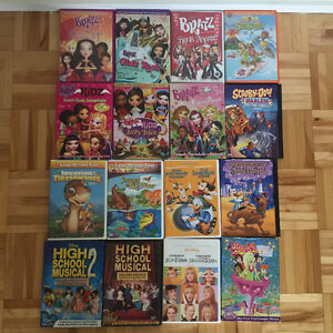KIDS DVDs USED