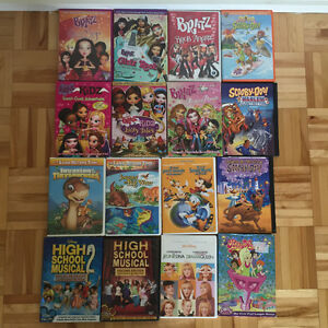 KIDS DVDs USED West Island Greater Montréal image 1