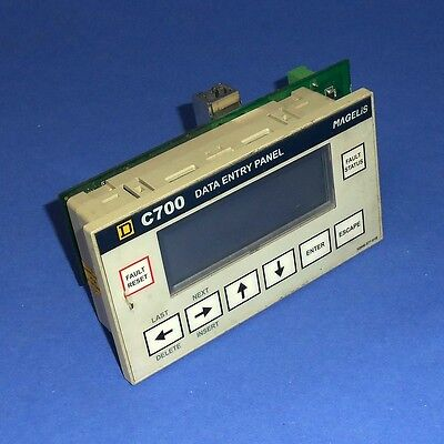 Square D Magelis Data Entry Panel C700