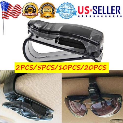 Car Accessories Auto Sun Visor Clip Holder Storage Mount for Sunglasses Glasses