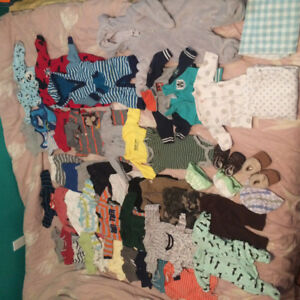 0-6 month baby boys clothes