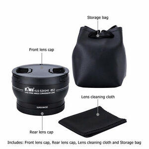 Brand new 0.43x AF Wide Angle  for Nikon D5600+