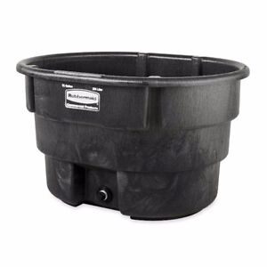 BNIB Rubbermaid Structural Foam Stock Tank 70 Gallon bucket