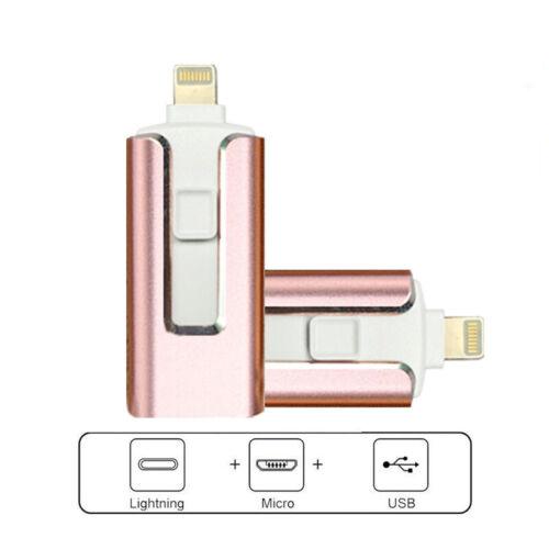 USB Flash Drive Memory Stick U Disk OTG Pendrive For IPhone IPad PC 128G 512GB - $15.19