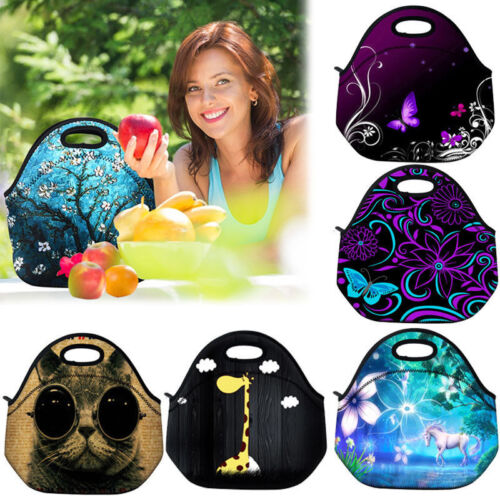 Insulated Lunch Box Tote Bag Cooler For Adults/Kids/Travel/W