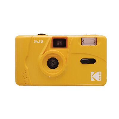 Kodak Vintage retro M35 35mm Reusable Film Camera Yellow