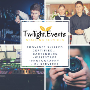 Twilight Event staffing /DJ Services and more
