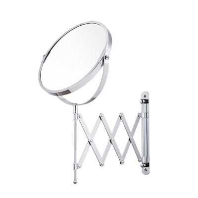 """Makeup Mirror Wall Mounted 360 Rotating Double Sided Free Magnifier 7"""" 1x/5x for sale  Shipping to Canada"""