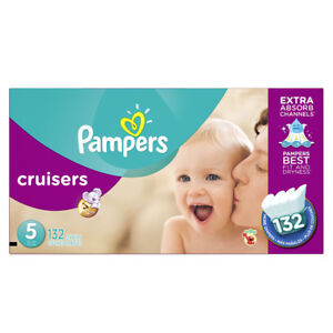 Pampers Cruisers Disposable Baby Diapers Size 5
