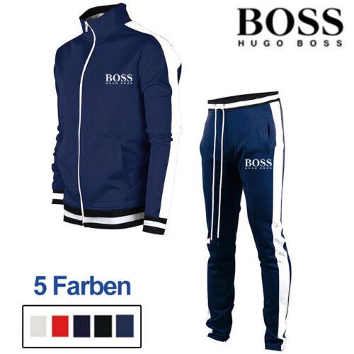 Herren Trainingsanzug Sets Hoodie + Jogginghose Kapuzenpullover Hose Sportanzug
