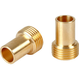 "NEW 4 x plumbing Tap Tail Adaptors 15mm x 3/8"" 2 Pack FreePost.UK Seller"