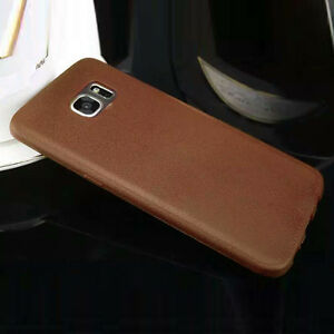 Thin TPU Leather Case For Samsung Galaxy S7 Edge