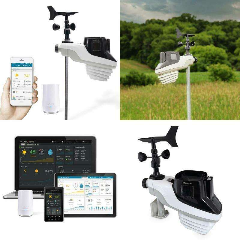 Atlas Weather Station Phone AcuRite Access for Personal Device Remote Monitoring