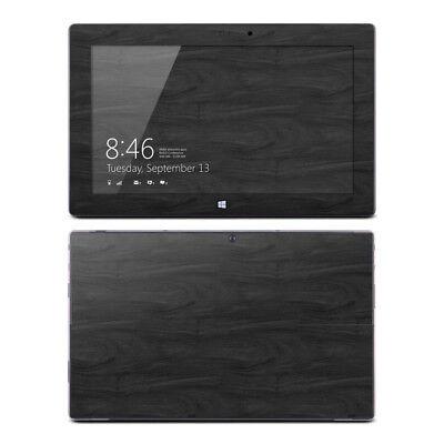Microsoft Surface Pro/Pro 2 Skin - Black Woodgrain - Sticker Decal