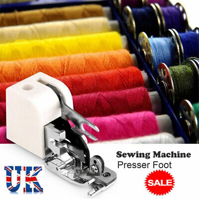 Household Sewing Machine Side Cutter  Overlock Presser Foot Feet Sew Attachment@