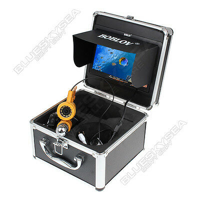 "BOBLOV 7"" 30M Underwater Video DVR Camera Ice Lake Fish Finder+8GB SD Card+Case"