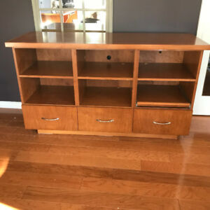 Entertainment Console - Solid wood