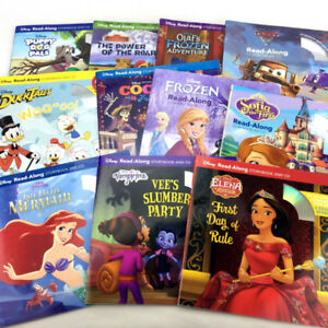 Lot 11 Disney Read Along Books Storybook And CD Sets Movie TV