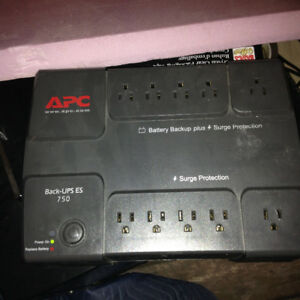 Battery back up apc