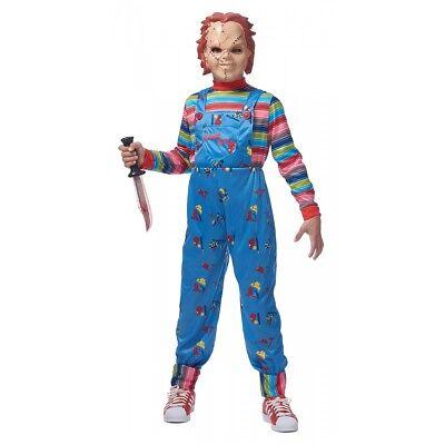 Chucky Costume Chucky Kids Halloween Fancy Dress (Chucky Kids Halloween Costumes)