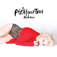 MADONNA Rebel Heart Tour 2 to 8 TICKETS RED 118 K Sept. 10