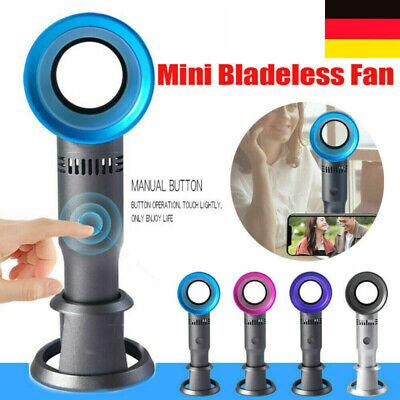 adeless Ventilator Tischventilator Fan Kühler Klimaanlagen (Mini Handheld Fan)
