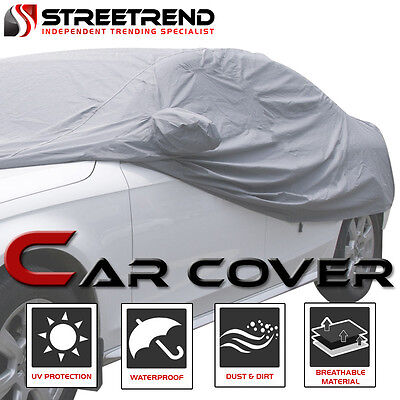 4 Layer 100 Waterproof All Weather Car Cover wMirror Pocket 4700MM For VW